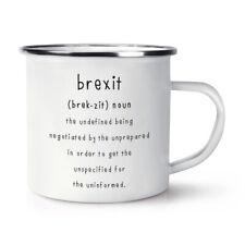 Brexit The Undefined Enamel Mug Cup Funny Political Joke Britain Europe EU