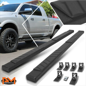 """For 09-20 Ram 1500-3500 Truck Crew Cab 5"""" Side Step Nerf Bar Flat Running Boards"""