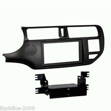 CT24KI25L FOR KIA RIO 2011 ONWARDS BLACK LEFT HAND DRIVE FASCIA ADAPTER & POCKET