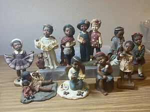 all Gods children collectibles figures Lot Of  10 From The 90's (BT #1-10)