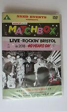 MATCHBOX ROCKABILLY LIVE ROCKIN BRISTOL 2018 40 YEARS ON DVD + CD LIMITED EDITIO