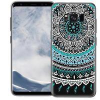 Schutzhülle Samsung Galaxy S8 Plus Hülle Silikon Handy Tasche Mandala Case Cover