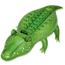 Inflatable Crocodile Pool Swimming Kids Beach Float Toy Summer Ride On Fun Play