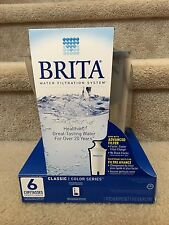NEW Brita 6 Cup Water Filter Pitcher With 1 Filter