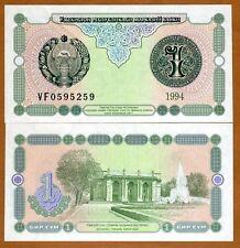 Uzbekistan, 1 Sum,1994, Pick 73, UNC