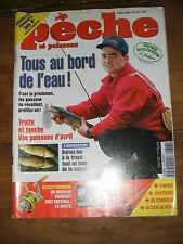 La pêche et les poissons N° 647 truite et tanche moulinet nautil échosondeur