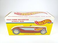 1996 Eastwood 1933 Ford Roadster Hot Wheels Street Rod 1/25 Scale Bank NEW NIB