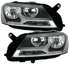 Headlight SET PAIR halogen front H7 H7 lights for VW PASSAT 3C B7 10-14