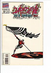DAREDEVIL #332 (Marvel 1994): CAPT. AMERICA / BLACK WIDOW / ELEKTRA  --  FN/VF