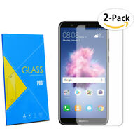For Huawei P Smart 2017 - LCD 2-Pack Tempered Glasses Screen Protector FILM 2.5D