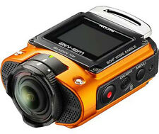 Ricoh Wg-m2 4k Action Camera Kit in Orange