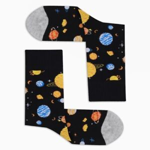 Men Space Funny Socks Gift Socks Novelty Sock Galaxy Socks