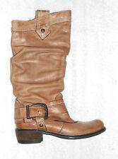 SPIRAL bottes cavalières cuir marron clair P 36 TBE