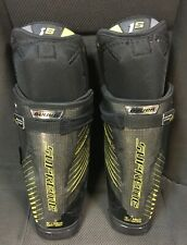 Pro Return KHL Stock Bauer Supreme 1S Hockey Shin Pads Guards w/out Caps