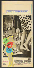 LOCANDINA, UNO DUE TRE One, Two, Three BILLY WILDER, CAGNEY, BUCHHOLZ, POSTER