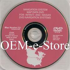 7.3 Update 2006 2007 2008 Infiniti FX35 FX45 FX Navigation DVD Map U.S Canada CD