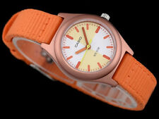 Casio Children S 50 M Analog Orange DESIGNER Watch 50 M WR Ltr 16 B 4 E 2 V