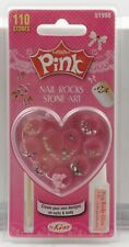 Kiss Pink Nail Rocks Stone Art - 51996