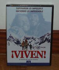 VIVEN - LA TRAGEDIA DE LOS ANDES - DVD - NUEVO - PRECINTADO - HECHOS REALES