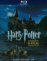 Harry Potter: Complete 8-Film Collection (Blu-ray Disc 2011) Opened But Not Used
