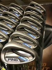 PING G30 NEW GOLF CLUBS 5-SW STIFF FLEX STEEL SHAFTS STUNNING IRONS EASY TO HIT