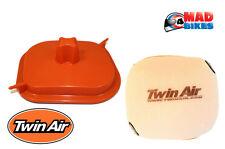 Twin Air Caja De Aire Filtro de aire de lavado de cubierta y KTM 250 350 450 SX-F 2016-2017