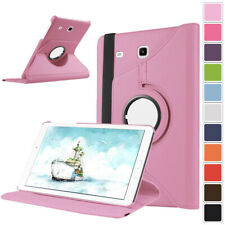 Flip Rotate Leather Case Stand Cover For Samsung Galaxy Tab 4 Lite 7.0 8.0 10.1