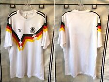 Germany 1990/92 Home International Soccer Jersey XL Adidas