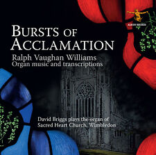 Vaughan Williams / David Briggs - Burst Of Acclamation [New CD]