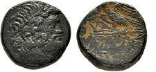 Ancient Greece 95-70BC Amisos,Pontus AE 20mm/8.66g Zeuss/Eagle