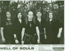 Well Of Souls - 8 X 10 Official band 2004 Promo Photo Picture -doom candlemass
