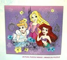 Disney Princess 24 Piece Jigsaw Puzzles Cinderella Ariel Rapunzel New Sealed