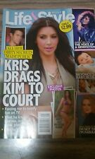 LIFE & STYLE WEEKLY MAGAZINE, KRIS DRAGS KIM TO COURT , FEBRUARY 27, 2012