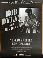 BOB DYLAN  2018   KREFELD - orig.Concert Poster -- Konzert Plakat  A1 NEU