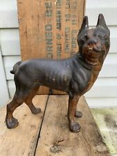 cast iron dog figurine