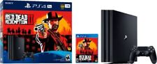 PlayStation 4 PS4 Pro 1TB Red Dead Redemption 2