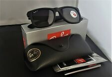 NEW!!! Ray-Ban Justin Wayfarer POLARiZED RB4165 622/T3 Black/Grey Gradient 54mm