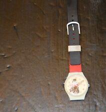 vtg Quartz Charlie Chaplin Watch non-functional for repair