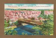 Reading,PA Pennsylvania, Stoudt Ferry COVERED BRIDGE across Schuylkill River