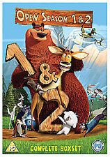 Open Season 1 & 2 (DVD, 2009, 2-Disc Set) Very Good Condition!