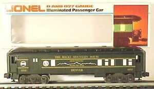 """Lionel 6-7205 TCA The Rocky Mountain Route """"Denver"""" Combination Car #1982 LN/Box"""