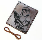 Storm Trooper leather patch,Star Wars leather patch.
