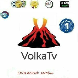 VOLKA PRO 2  TV 12 MOIS OFFICIEL ENVOI RAPIDE ET GRATUIT