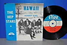 "7"" The Hep Stars Hawaii Sunny Girl ABBA Benny Andersson Vinyl Single gereinigt"