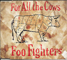 FOO FIGHTERS For all the Cows 2 RARE LIVE TRX Europe CD single SEALED USA seller