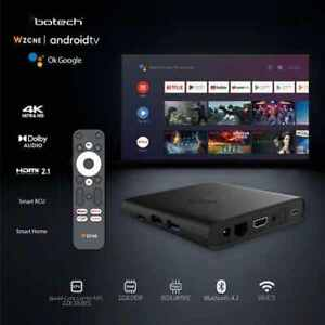 Gigablue x Botech WZONE 4K ANDROID 10 TV Box HDR / HDMI2.1 Streaming Empfänger