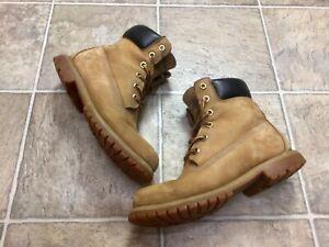 Timberland 6 Inch Premium Waterproof Boots Wheat Nubuck US Women Size 8M