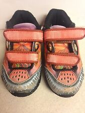 Dinosoles Boy's Sneakers Sz 6 Toe Rubs Some Lights blink