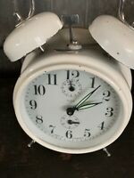 INSA Vintage Mechanical Wind Up Alarm Clock, Made In Yugoslavia's - Works Great