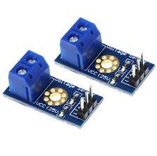 2 x Voltage Sensor DC 0V - 25V for Arduino
